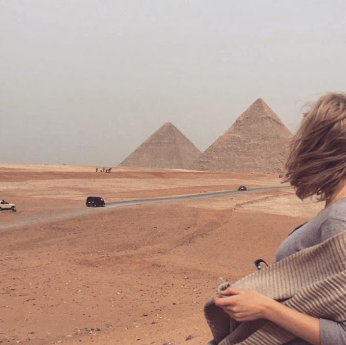 egyptian pyramids & me