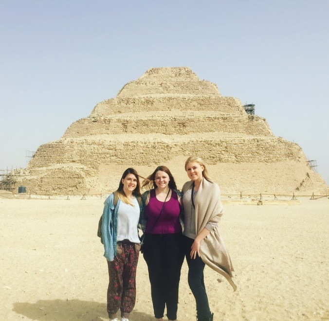 egyptsoldestpyramid3girls