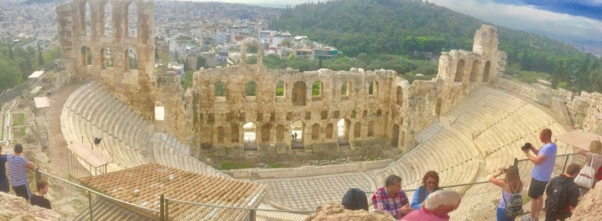Amazed by the Theatre of Dionysus